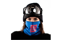 Mons Royale Neck Warmer blue reflect